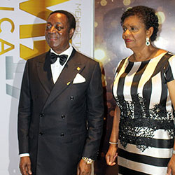 DR KWABENA DUFFUOR AND WIFE