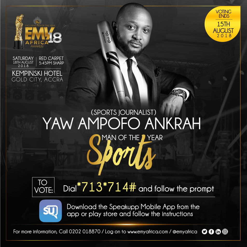 EMYAFRICA 2018 AWARDS NOMINEE